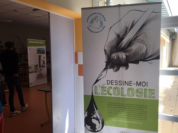 """""""Dessine-moi l'écologie"""" de Cartooning for Peace"""
