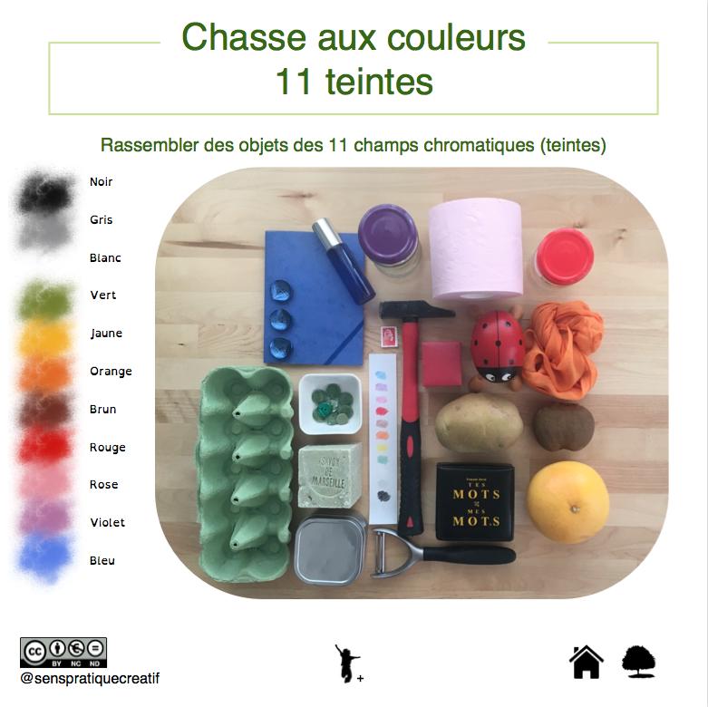Défi créatif sur les couleurs